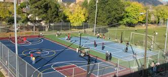 multi sport game courts sport court