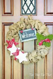 the easiest burlap wreath you will make duke manor farm