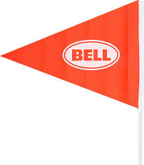 Flags That Are Orange White And Green Amazon Com Bell Sports Flagger 6 Ft Safety Flag Orange