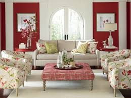 interior decoration ribbon house bathroom design with red white