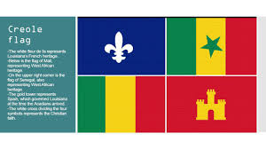 Flag Red With White Cross The Acadians Creoles And Native Americans U2026 In Louisiana Ppt