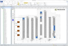 Drawing Floor Plans In Excel Visualization Rackwise Data Center Infrastructure Management
