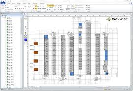 microsoft visio floor plan visualization rackwise data center infrastructure management