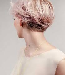 front and back views of chopped hair image result for back view of pixie hairstyles hair styles