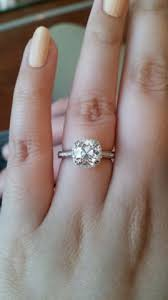 Reset Wedding Ring by Reset August Vintage Cushion Avc Diamond Ring Pricescope
