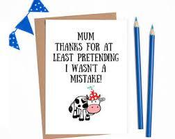 birthday card mum etsy