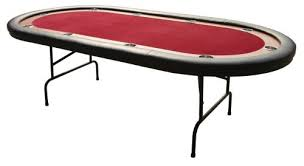 folding oval poker table race track poker table with folding legs 96 inch table