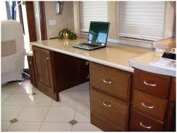 Computer Desk Built In Custom Built Rv Desks Country Craftsman Woodworking