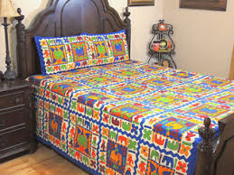 Tribal Print Bedding Ethnic Wool Jamawar Gulzar Bedspread Paisley Kashmir Warm