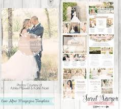 wedding magazine template instant after wedding magazine template for