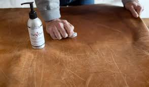 how to get scratches out of leather