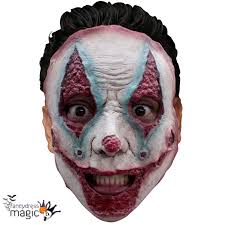 halloween costume mask serial killer gruesome horror scary halloween latex face