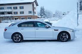 Is The Subaru Brz Awd All Wheel Drive Bmw M5 Caught Testing In The Snow