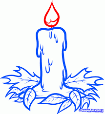 5 how to draw a halloween candle