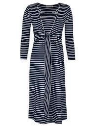 navy breton stripe nursing dress jojo maman bebe