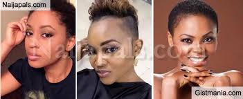 pictures of low cut hairs 5 female nigerian celebrities who look super hot in low cut hair