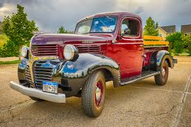 Classic Ford Truck Used Parts - 1945 dodge half ton pickup truck classic car photography by