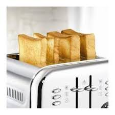 Morphy Richards Toaster Yellow Richards Accents 4 Slice Stainless Steel Toaster