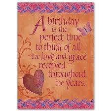time birthday birthday card