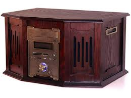 Case For Home Theater Pc by Nmediapc Red Wood Wood Steel Htpc 8000 Atx Media Center Htpc