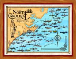 florida shipwrecks map shipwreck chart carolina