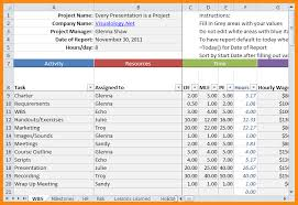 5 excel project schedule template model resumed
