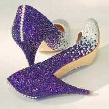 sparkly shoes for weddings purple sparkly wedding shoes white on the toe color at the back