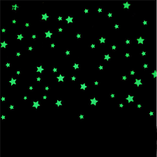 glow in the stickers 100pcs glow stickers kids bedroom fluorescent bright glow in the