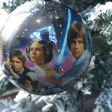 wars princess leia decorations tree baubles pack of