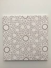 64 Best Moroccan Stencil And by Model Stencil Modelleme Pinterest Stenciling Islamic Art