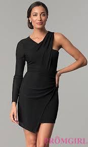 klshort black dresses black dresses black prom gowns promgirl