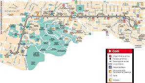 Via Bus Route Map Bus Line 9 Plaça Catalunya Pg Zona Franca Barcelona Map Stops