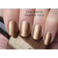cnd creative nail design shellac power polish sugared spice