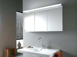 Bathroom Mirrored Cabinets With Lights Bathroom Mirror Cabinets Led Light Valuable Idea Cabinet With