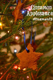 how to make cinnamon applesauce ornaments simple play ideas