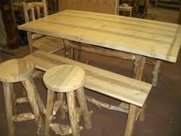 H2o Furniture by Dining Table For Eight Beetle Kill Pine And Aspen Log Medicinewolf