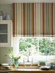 kitchen kitchen window drapes orange and blue curtains kitchen