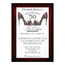 vintage 50th birthday invitations u0026 announcements zazzle