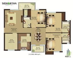 1500 Sq Ft House Floor Plans 1500 Sq Ft Duplex House Plans Amazing House Plans