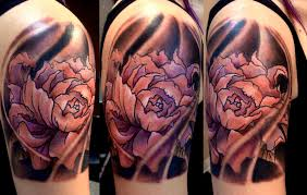 Male Flower Tattoos - 48 lotus tattoos ideas for men