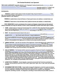 licensing agreement template free free ohio residential lease agreement pdf word doc
