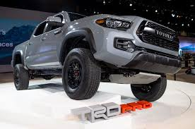 toyota agency 2017 toyota tacoma trd pro starts at 41 700 highly anticipated