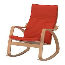 chaise bascule ikea poäng fauteuil à bascule knisa orange ikea