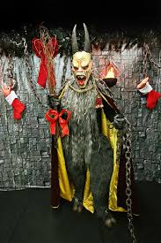 Krampus Costume Person Of Interest Features The Stranger