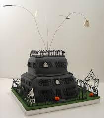 haunted house cakes u2013 decoration ideas little birthday cakes