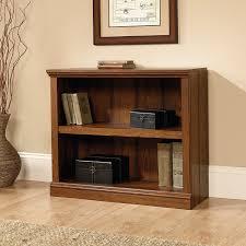 Sauder Oak Bookcase by Amazon Com Sauder 2 Shelf Bookcase Washington Cherry Kitchen