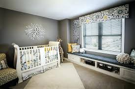 Baby Bedroom Design Gray Baby Room Ideas View In Gallery Lovely Window Seat Addition