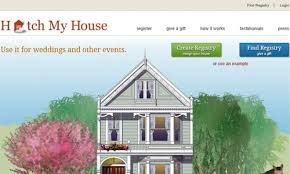 wedding registry for a house great wedding registry websites orange blossom