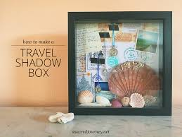 travel box images Travel tip make a travel shadow box with mementos from your png