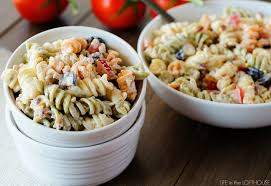 pasta salad with mayo bacon ranch pasta salad life in the lofthouse